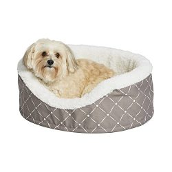 MidWest Homes for Pets CU25MRD Couture Orthopedic Cradle Pet Bed for Dogs & Cats, Small