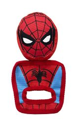 Marvel Comics Spiderman Pull and Play Oxford Toy for Dogs | Super Hero Toys for All Dogs and Puppies