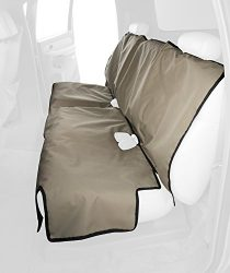 Canine Covers Econo 2nd Row Semi-Custom Fit Seat Protector – Polycotton (Taupe)