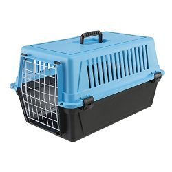 Ferplast Atlas 20 Cat and Dog Carrier, Blue