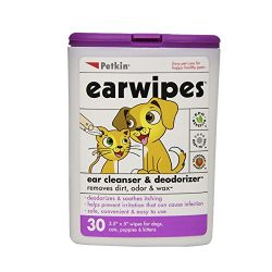Petkin Earwipes 30 count