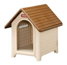 IRIS Plastic Dog House, Beige