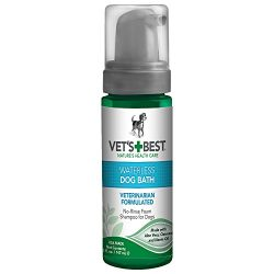 Vet's Best Waterless Dog Bath | Shampoo for Dogs | No-rinse Foaming Formula | 5 oz