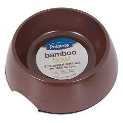 Petmate 23353 Eco Pet Bowl, 28-Ounce, Earth Brown/Forrest Green