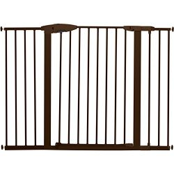 Munchkin Easy Close XL Metal Baby Gate, 29.5″ – 51.6″ Wide, Bronze, Model MK0009-111