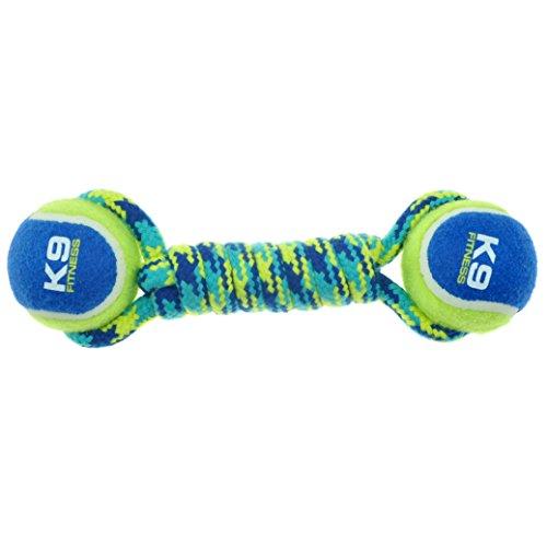 ZEUS K9 Fitness Dbl Tennisball Rope