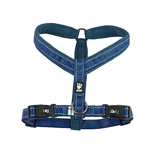 Hurtta Casual Padded Dog Y-Harness, River, 22 in