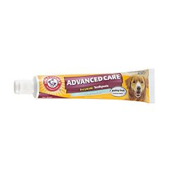Arm & Hammer Dog Dental Care Fresh Breath Enzymatic Toothpaste for Dogs   No More Doggie Breath   Safe for Puppies, Clinical Care, Vanilla Ginger Flavor