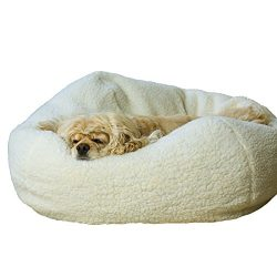 Carolina Pet Co. Sherpa Puff Ball, 26, colors may vary
