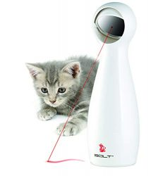 PetSafe Bolt Interactive Laser Cat Toy, Automatic Laser Pointer Toy for Cats
