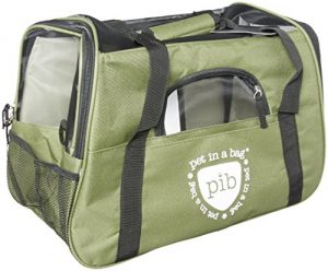 Pet in a Bag Airline Approved Pet Carriers Green