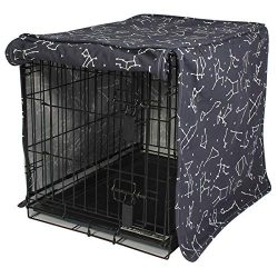 Molly Mutt Dog Crate Cover – 100% Cotton, Durable, Washable – Rocketman, Big