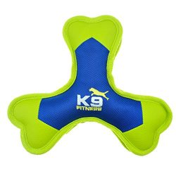 K9 Fitness Dog Toys by Zeus Tough Nylon Tri-Bone, Tough Nylon Construction Built for Aggressive Chewers