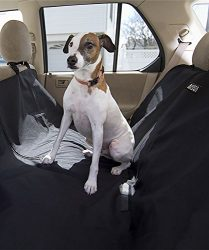 Animal Planet Water Resistant Hammock Car Seat Cover for Pets, Black