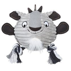 Grriggles Free Range Friend Dog Toy, Goat