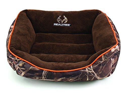 Dallas RR2125-160.1 Realtree Box Bed, Camo with Orange Piping, 25″ x 21″