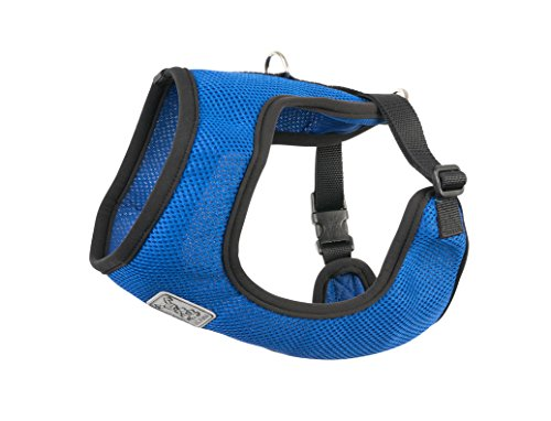 RC Pet Products Cirque Soft Walking 10 to 20-Pound Dog Harness, Small, Cobalt