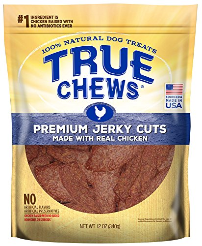 True Chews Premium Jerky Cuts Made with Real Chicken, 12 oz