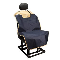 Bergan Bucket Seat Cover, 600D Polyester, Navy & Sand