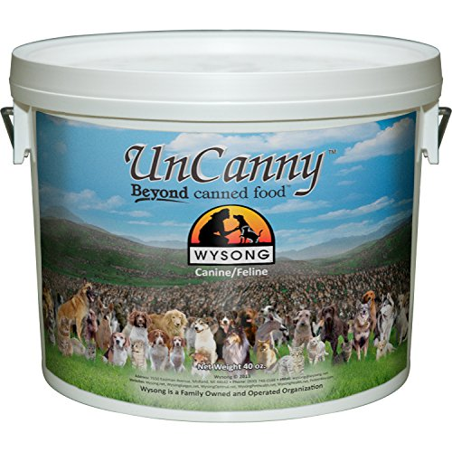 Wysong Uncanny Canine/Feline Raw Diet – Dog/Cat Food Supplement – 40 Ounce Bucket