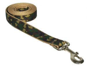 Sassy Dog Wear 6-Feet Camouflage Dog Leash, Large