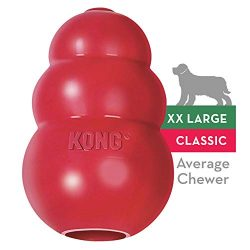 KONG – Classic Dog Toy – Durable Natural Rubber – Fun to Chew, Chase and Fetch – for XXL Dogs