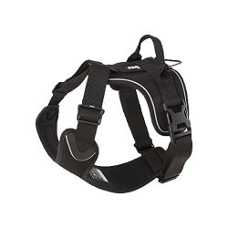 Hurtta Active Dog Harness, Raven, 24-32 in