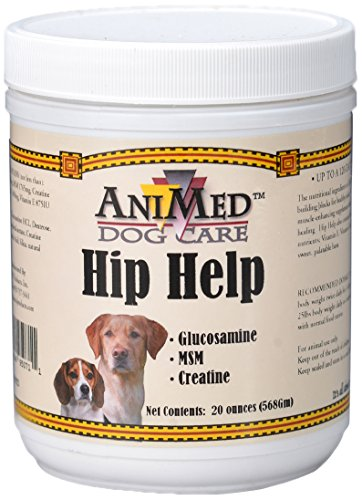 AniMed Hip Help Powder for Dogs, 20-Ounce