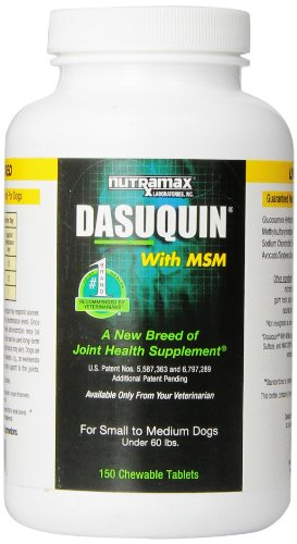 Dasuquin for Small/Medium Dogs Under 60 lbs. with MSM 150 Chews