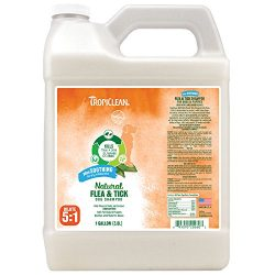 TropiClean Flea and Tick Soothing Shampoo for Dogs, 1 gal, Made in USA