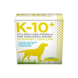 K-10+ Urinary Tract Health Supplement Powder for Dogs; UT/Lawn Care for Your Dog's Water – 28 ct. Box
