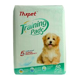 Thxpet Produced by Our Own Factory Training Pad, Pet pad for Potty Training, Dog Pad Super Absorbent Leak Proof 24inch by 24inch 50Count L Size