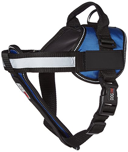 Dogline Unimax Multi-Purpose Vest Harness for Dogs and 2 Removable DIY Customizable BLANK Patches