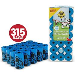 Bags on Board 315 Count Economy Pack Refill Bags