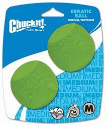 Canine Hardware Chuckit Erratic Ball Medium (2 Pack)