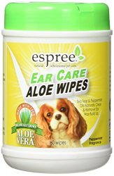 Espree Ear Care Wipes, 60 Count