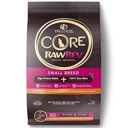 Wellness Core Rawrev Natural Grain Free Small Breed Dry Dog Food, Original Turkey & Chicken With Freeze Dried Turkey, 10-Pound Bag