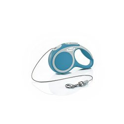 Flexi Vario Retractable Dog Leash (Cord), 10 ft, Extra-Small, Turquoise