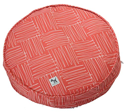 Molly Mutt Jitterbug Dog Bed Duvet Cover, 36″ Round – 100% Cotton, Durable, Washable