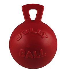 Jolly Pets 10-Inch Tug-n-Toss, Red