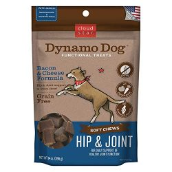 Cloud Star Dynamo Dog Functional Soft Chews: Hip & Joint – Bacon & Cheese – 14 oz.