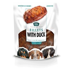 Vera Duck Fillet Jerky Treats For Dogs, 18 Oz
