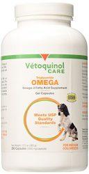 Vetoquinol Tri-Omega – Medium Dogs 250 Capsules