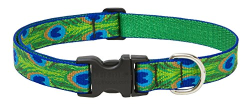 Lupinepet Originals 1″ Tail Feathers 12-20″ Adjustable Collar For Medium And Larger Dogs