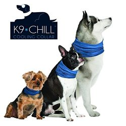 Novel Brands K9 Chill Dog Cooling Collar (Small/Medium 8″- 20″)
