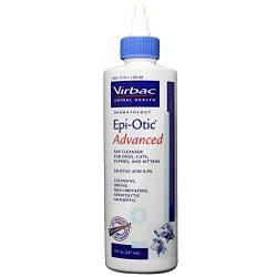 Virbac 003108 Epi-Otic Advanced Pet Ear Cleaner, 8 oz