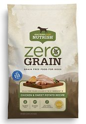 Rachael Ray Nutrish Zero Grain Natural Dry Dog Food, Grain Free, Chicken & Sweet Potato, 14 Lbs