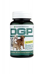 American BioSciences DGP, Joint Relief Formula for Pets, 60 All Natural, Chewable Tablets