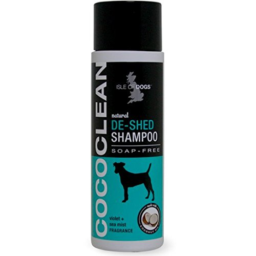 Isle of Dogs CocoClean De-Shed Shampoo, 8.4 Ounces