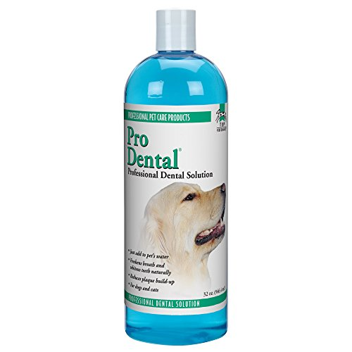 Top Performance ProDental Solution — Innovative Solution for Cleaning Pets' Teeth and Gums, 32 oz.